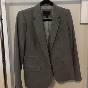 J Crew Schoolboy Gray wool Blazer. Size 4